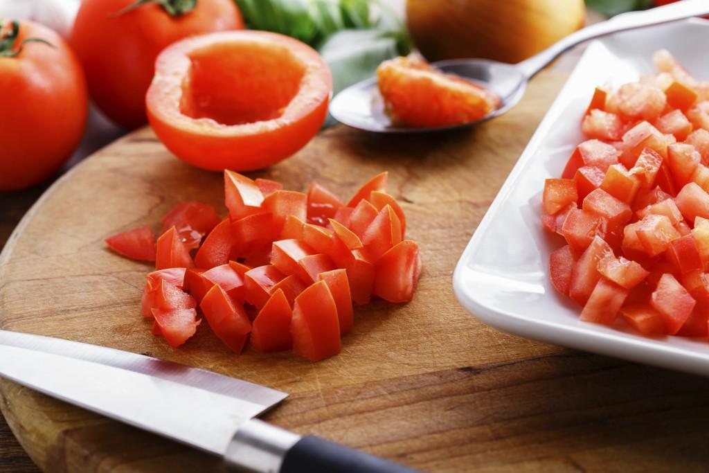 cómo cortar los vegetales para cada tipo de comida