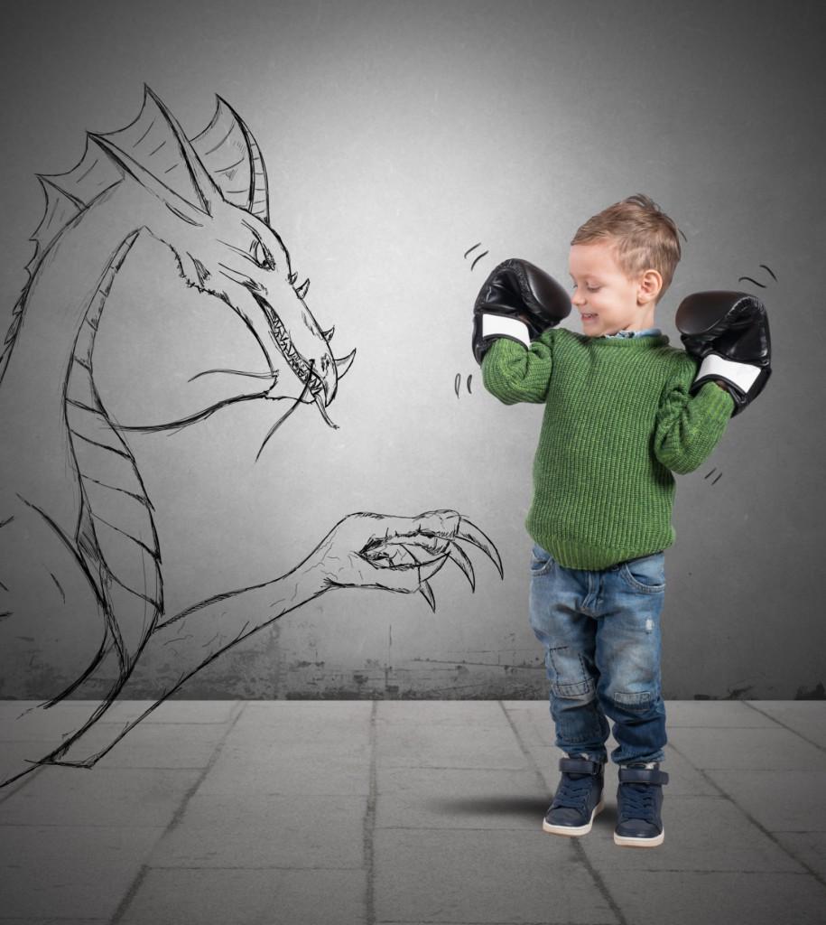 Muchos niños tienen pesadillas hasta los 6 años.
