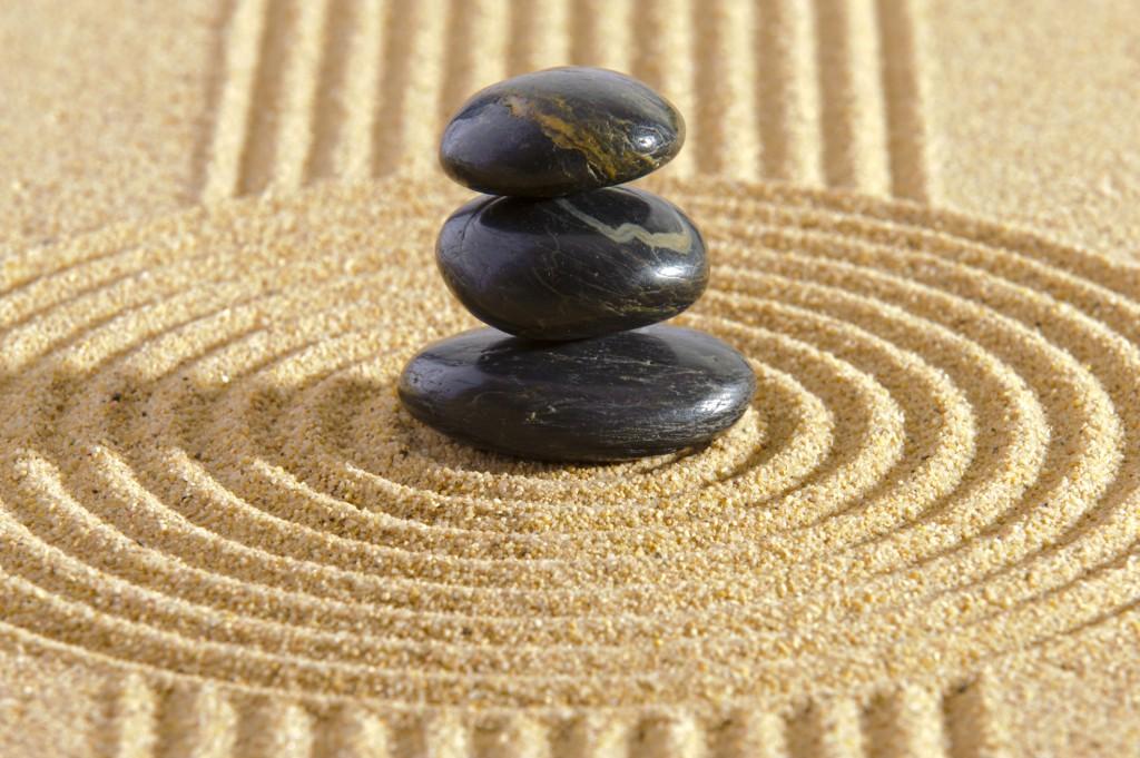 El simbolismo del jardín zen nos ayuda a meditar.