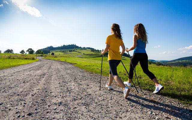 El power walking es el deporte de moda.