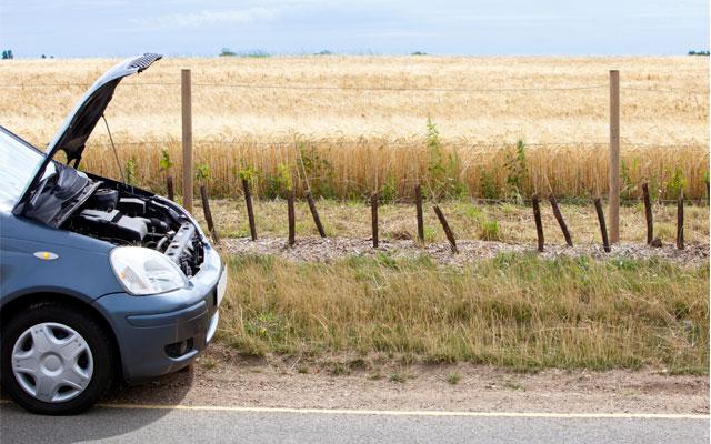 Las averías del coche más frecuentes.