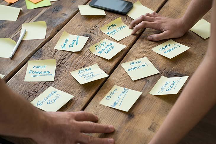 Organización para ahorrar tiempo en el trabajo