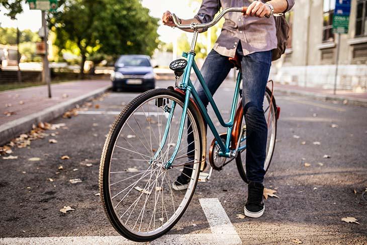 Consejos de circulación para ciclistas en ciudad