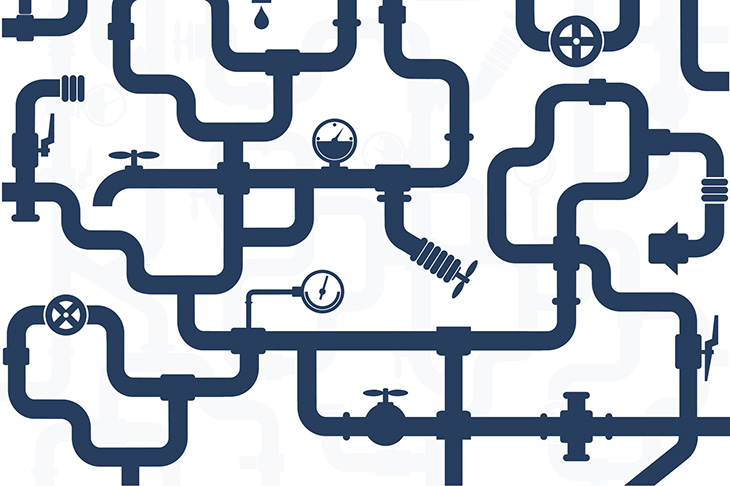 El mantenimiento de las tuberías es un factor clave