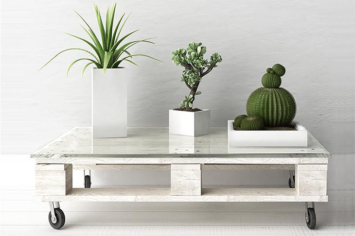 hacer una mesa con palés, un método para barato para decorar tu casa