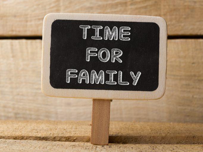 Dia Internacional de la familia, compártelo con tus seres querido