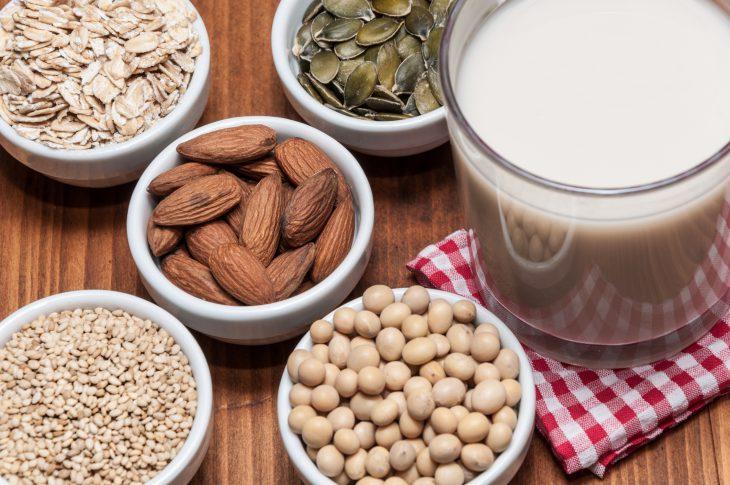 Bebidas vegetales como alternativa a la leche de vaca