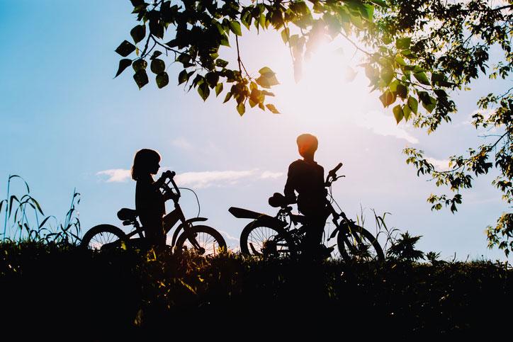 salir en bici, excursión en bici