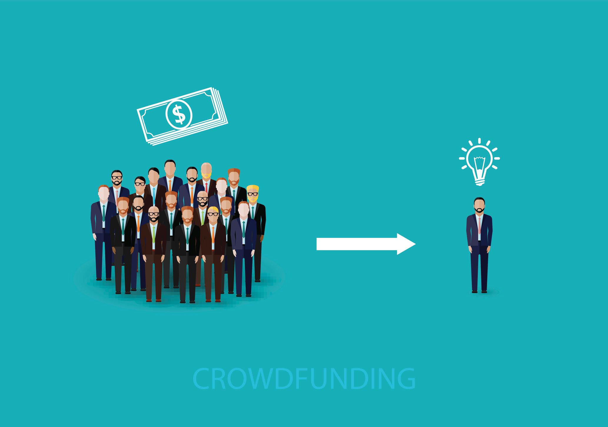el crowfunding o micromecenazgo, el crowfunding y el micomecenazgo