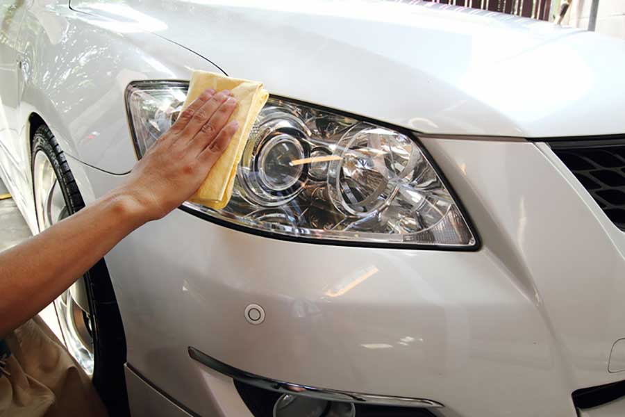 pulir faros coche