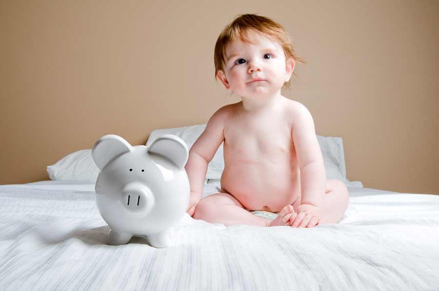 ahorro padres primerizos