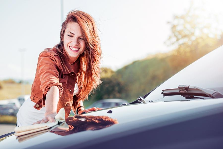 Cómo mantener la pintura del coche