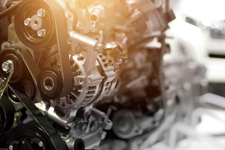 partes del motor de un coche