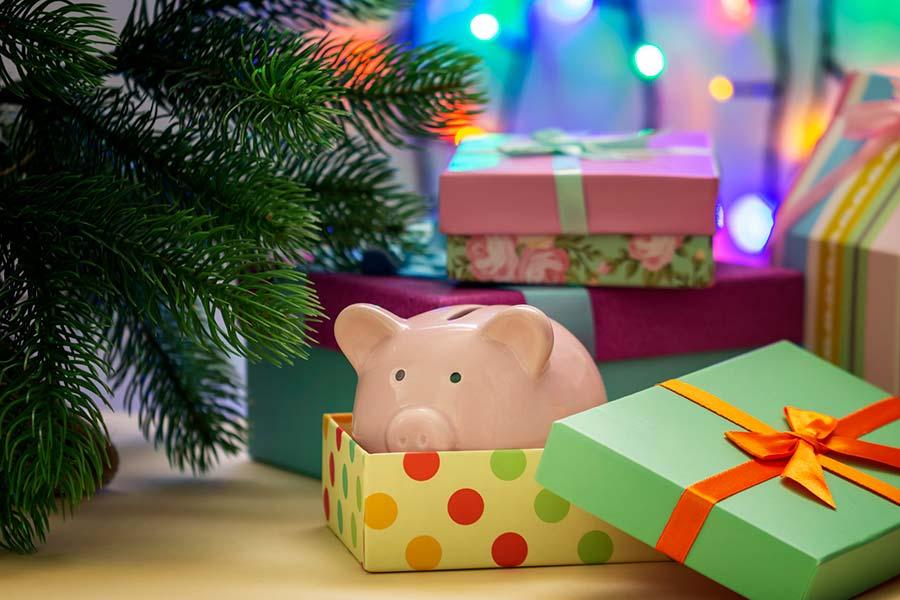 ahorro fiestas navidad