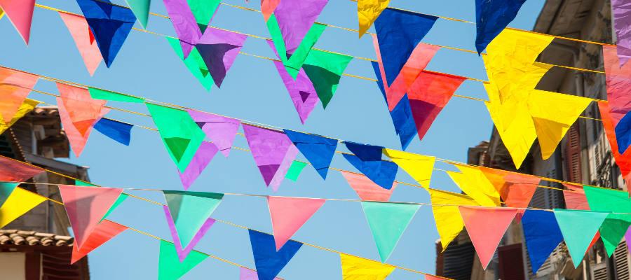 Listado de las mejores fiestas en agosto