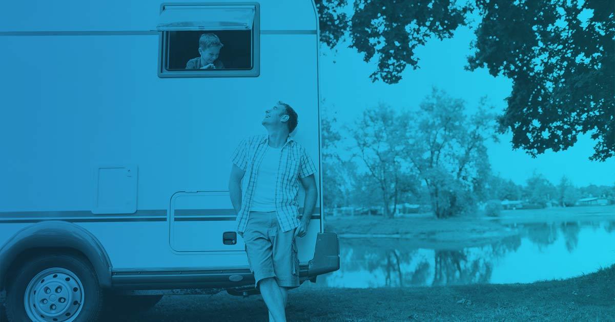 Mantenimiento De Caravanas Instaladas En Un Camping