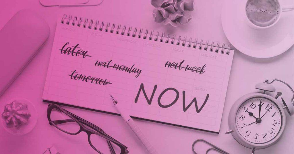 consejos para no procrastinar