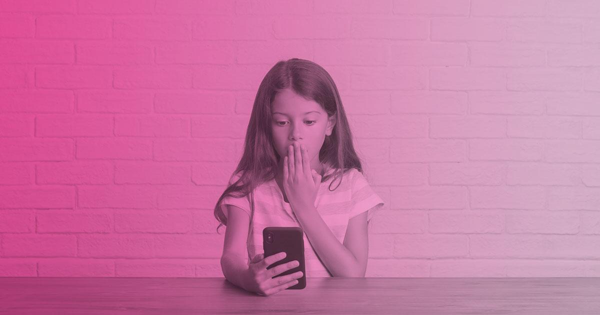 Control móvil niños