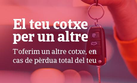 el teu cotxe per un altre