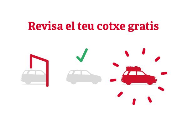 Revisió gratuïta del teu cotxe