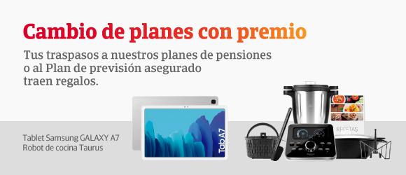 Campaña Planes de pensiones